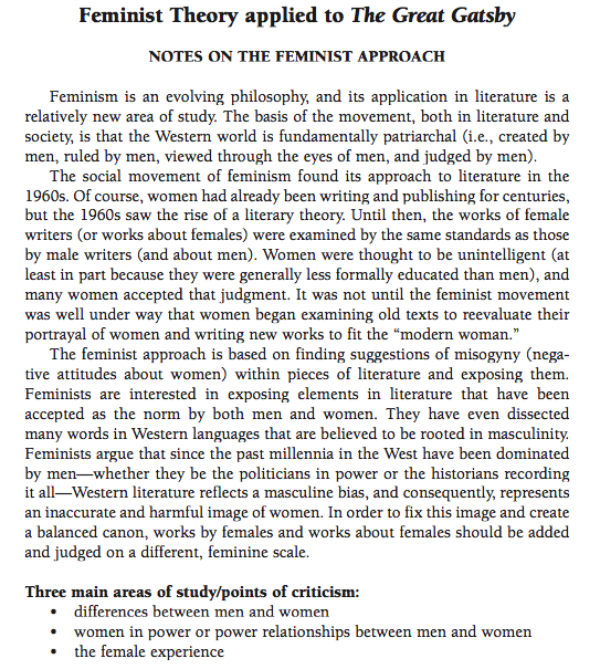 sample essay about feminist essays on the great gatsby 10 she s also at least for many of the great gatsby feminist essays on the great gatsby joseph massad stunningly ignorant al jazeera essay